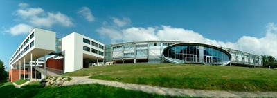 Ansicht Gebäude Fachhochschule Hagenberg