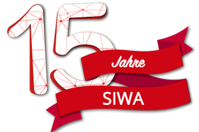 15 Jahre SIWA Online GmbH Logo