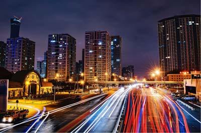 Imagebild Mobilität in einer Großstadt