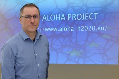 Priv.-Doz. Dr. Bernhard Moser, Research Coordinator des Software Competence Center Hagenberg sowie Experte für Transfer-Learning