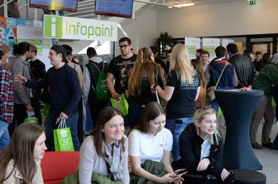 Besucheransturm beim Tag der offenen Tür an der FH OÖ Campus Hagenberg