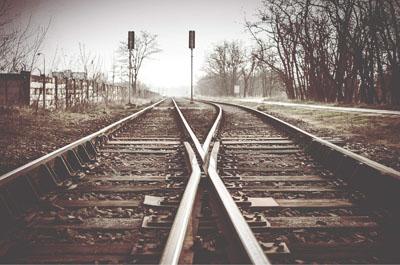 2 Bahnwege die sich kreuzen