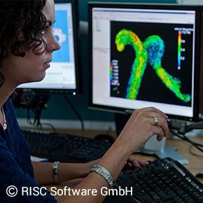 Foto Projekt MEDVIS 3D: Entwicklung eines universellen Softwarewerkzeugs zur einfachen und schnellen 3D Rekonstruktion, Visualisierung, Vermessung und Simulation des Blutflusses von Aneurysmen.