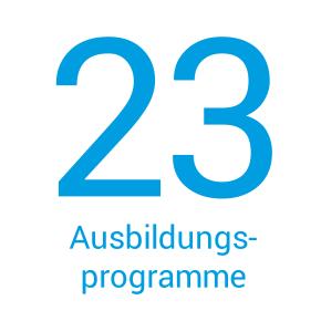Der Softwarepark Hagenberg beheimatet 23 Ausbildungsprogramme.