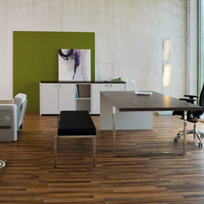 Beispielbüro im Business Campus One – BC1