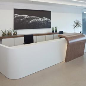 Beispielbüro im Gebäude Business Campus One – BC1