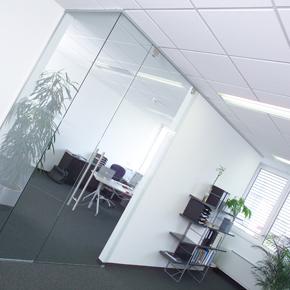 Beispielbüro im Bürogebäude IT-Center