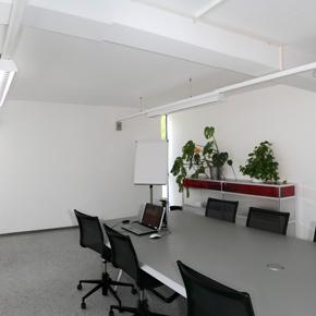 Besprechungsraum im Bürogebäude Meierhof