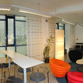 Beispielbüro im Bürogebäude Meierhof