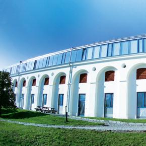 Aussenansicht Bürogebäude Meierhof