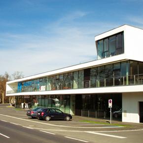 Aussenansicht Infrastrukturzentrum Neue Mitte