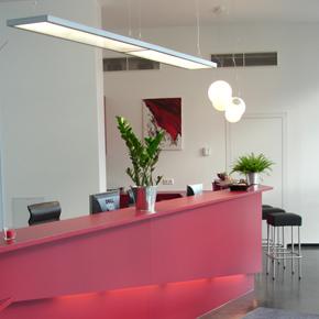 Beispielbüro im Infrastrkturzentrum Neue Mitte