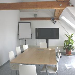 Besprechungsraum im Coworking Hagenberg
